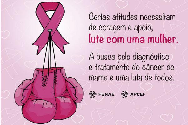720f2936d5 Fenae abraça Outubro Rosa no mês da prevenção do câncer de mama
